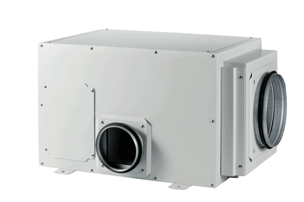 ceiling mount ducted dehumidifier for swimming pool.