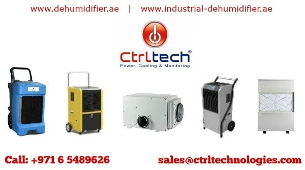 Industrial dehumidifier in UAE by CtrlTech.