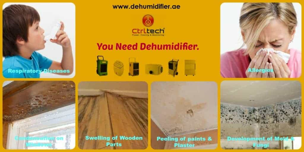 CtrlTech is dehumidifier supplier in UAE and Dubai.