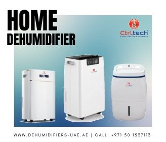 Portable mini home dehumidifier.