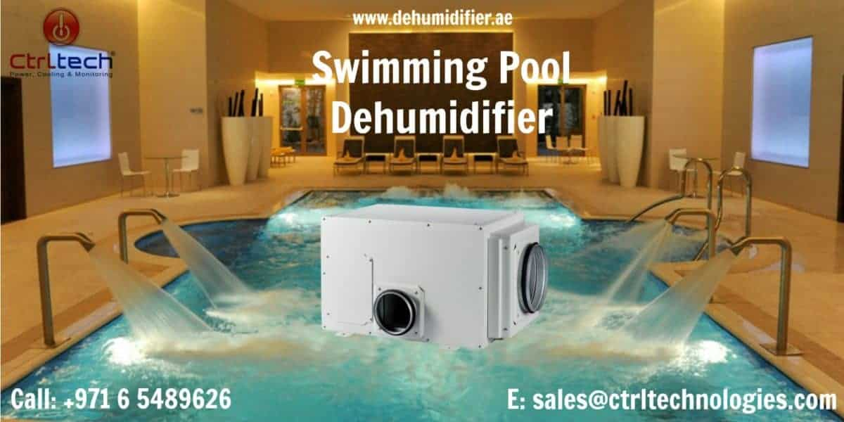 Swimming pool dehumidifier