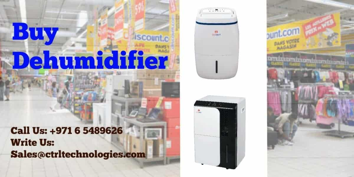 Dehumidifier in Carrefour Dubai UAE.