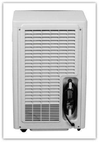 CD-50L room dehumidifier back side.