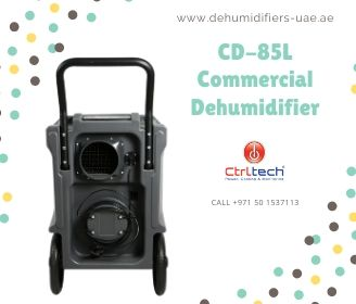 CD-85L commercial dehumidifier by CtrlTech.