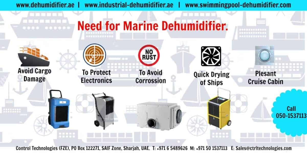 Boat dehumidifier for yacht & marine use.