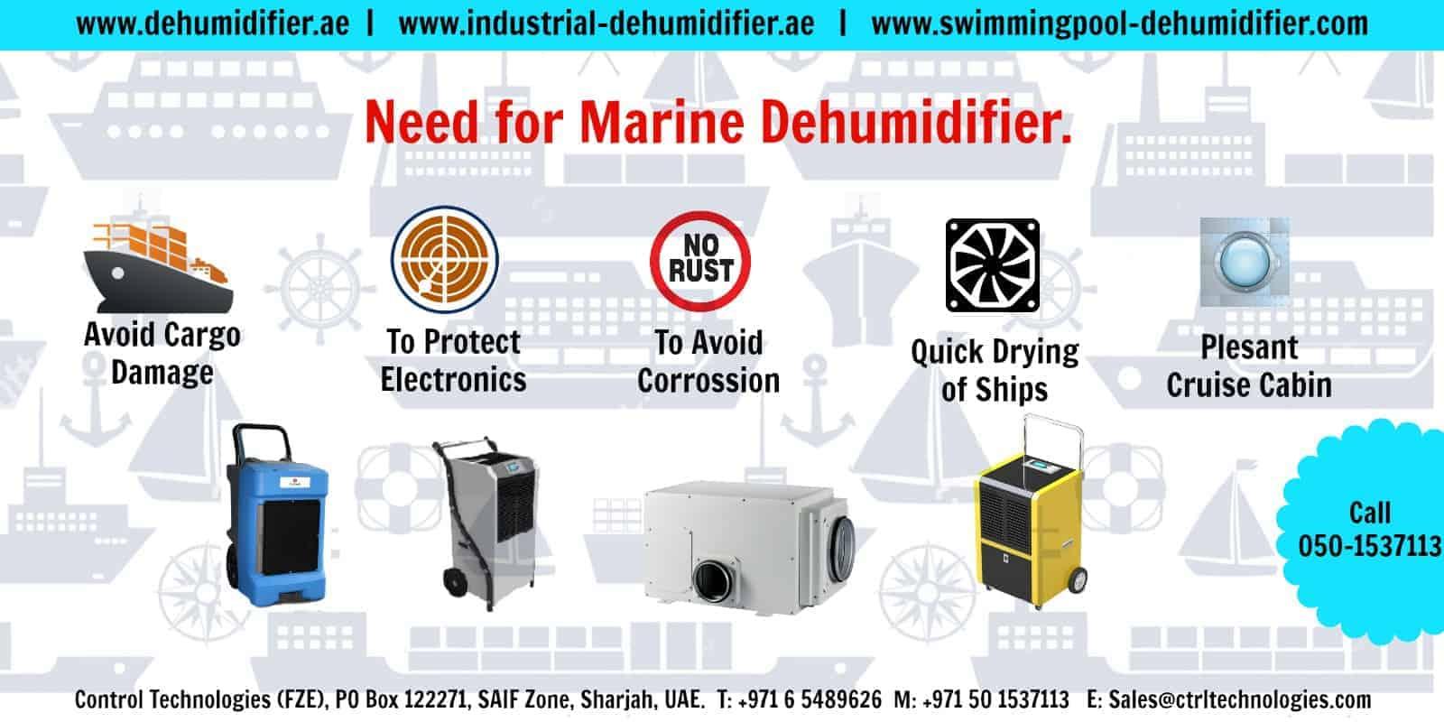 Marine dehumidifier; Why it is needed for dehumidification?