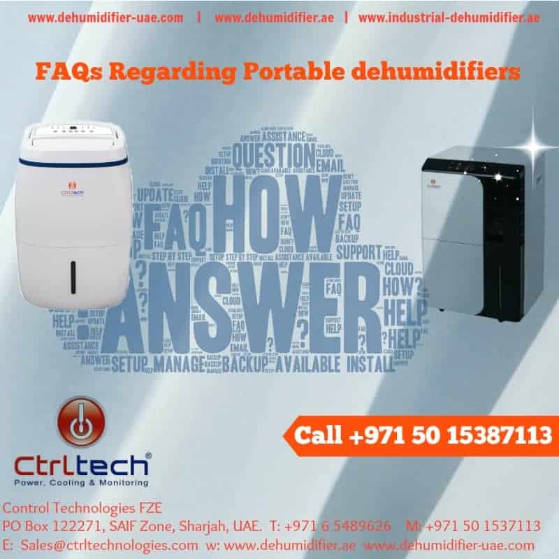Faqs regarding portable room dehumidifier supplier in UAE.