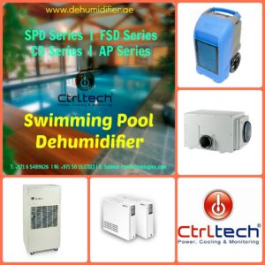 Swimming pool dehumidifier or dehumidifier for swimming pool in Dubai, UAE