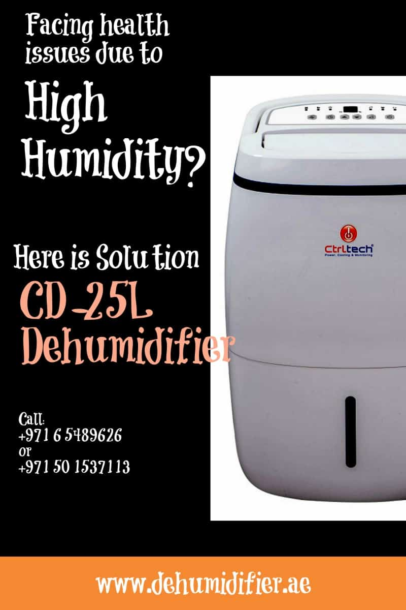 Portable Dehumidifier Dubai CD-25L for home & offices.