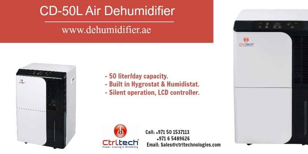 Best dehumidifier in Dubai UAE CD-50L