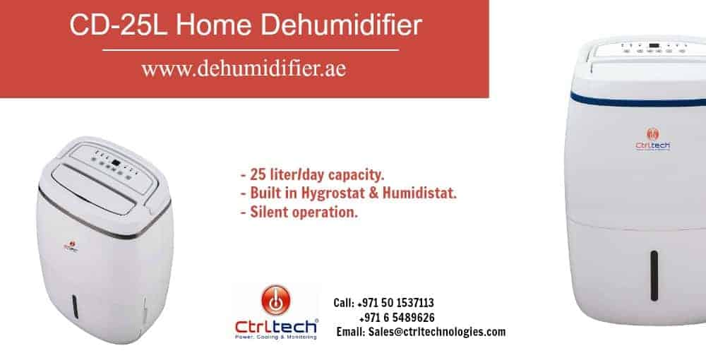 CD-25L home dehumidifier in Dubai, UAE.