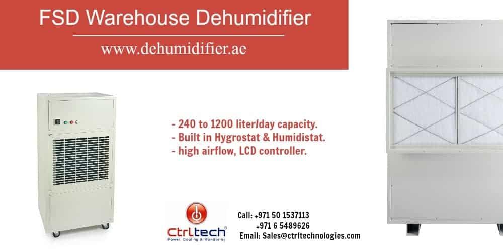 FSD floor mount warehouse dehumidifier