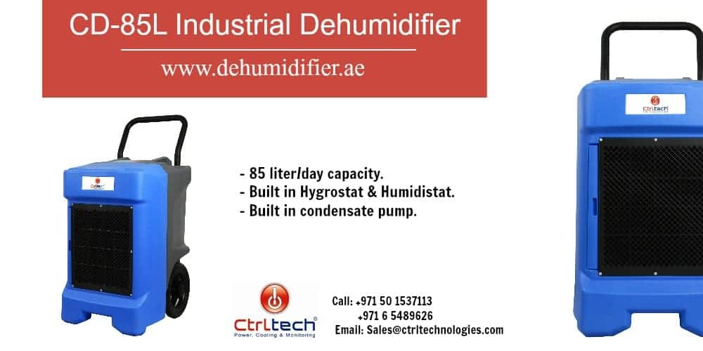 industrial dehumidifier CD-85L supplier in UAE.