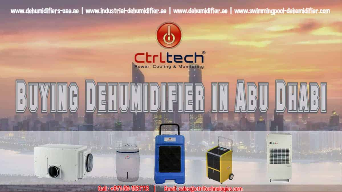 dehumidifier in Abu Dhabi, UAE.