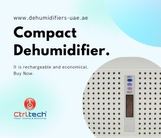 Electrical mini size compact dehumidifier.