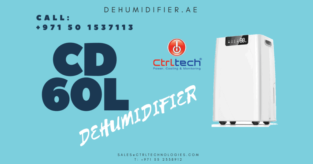 Humidity controlling de-humidifier for dehumidification.
