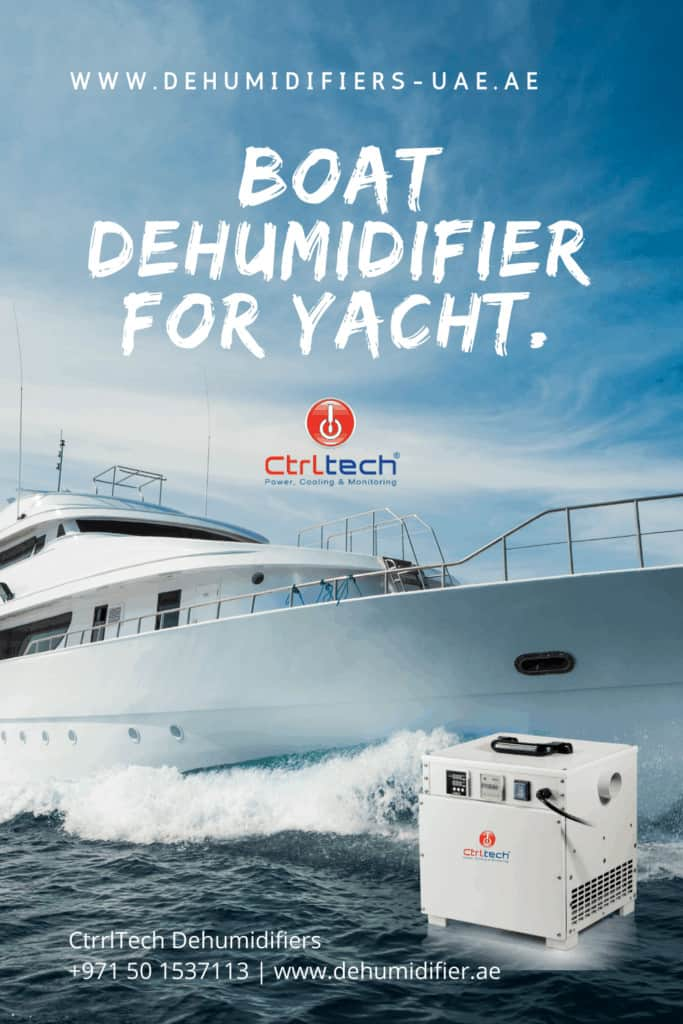 Boat Dehumidifier ASE 300 made in Germany.