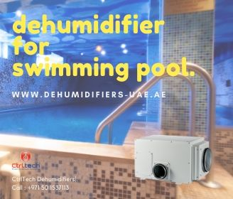 Dehumidifiers for swimming pool humidity problem.