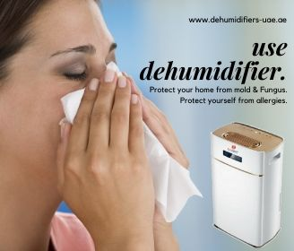 Use dehumidifiers to remove allergies.